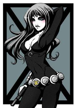 marvel ladies: Black Widow