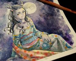 Silver Moonlight by Yukieru