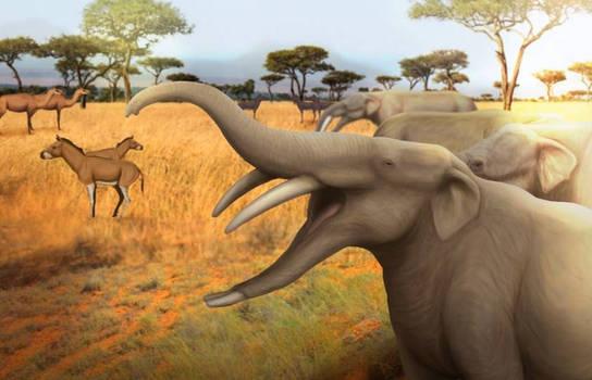 Miocene of El Salvador by Bran-Artworks