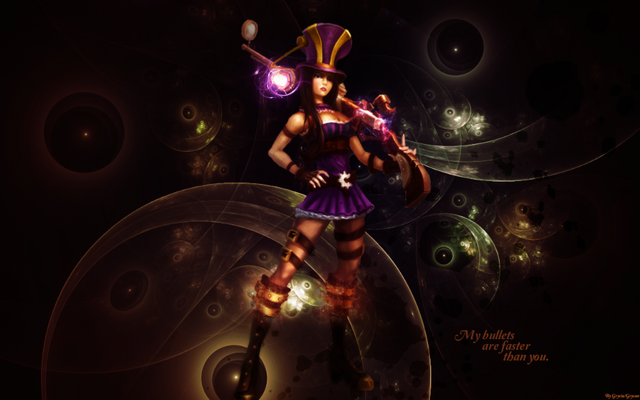 League Of Legends Caitlyn Wallpaper