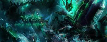 Thresh - League of Legends. by Grycio