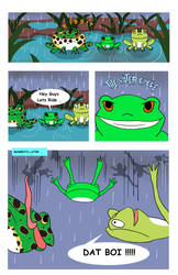 Crazy Frogs