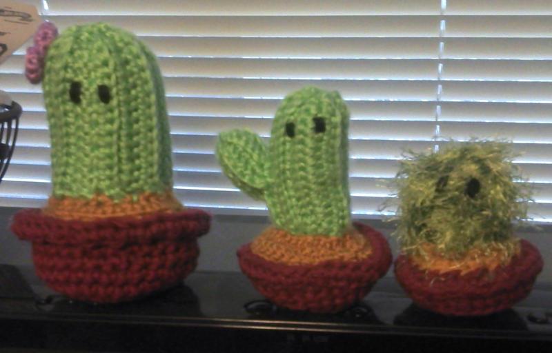 Cactus Amigurumi Venta : Amigurumi Cactus Family by TheHarley on DeviantArt
