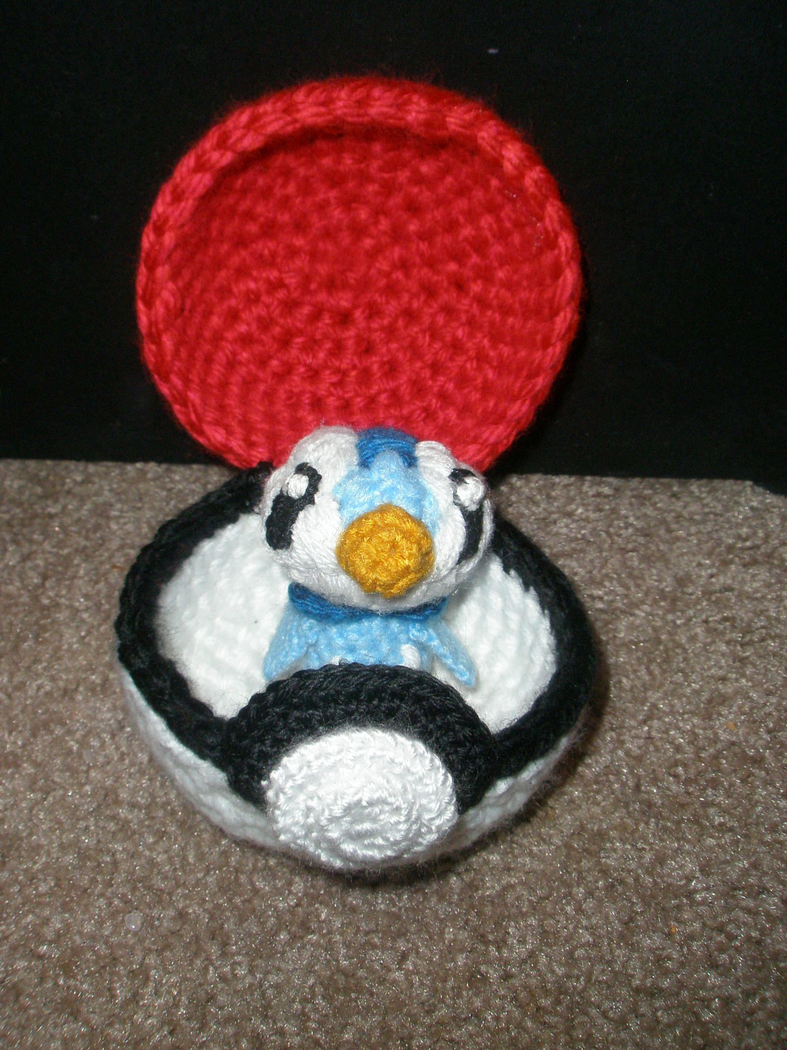 Functioning Pokeball + Piplup by TheHarley on DeviantArt