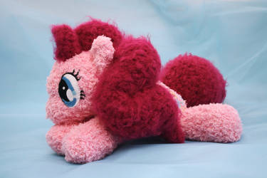 Pinkie Pie Floppy MLP Crocheted Plushie by TheHarley