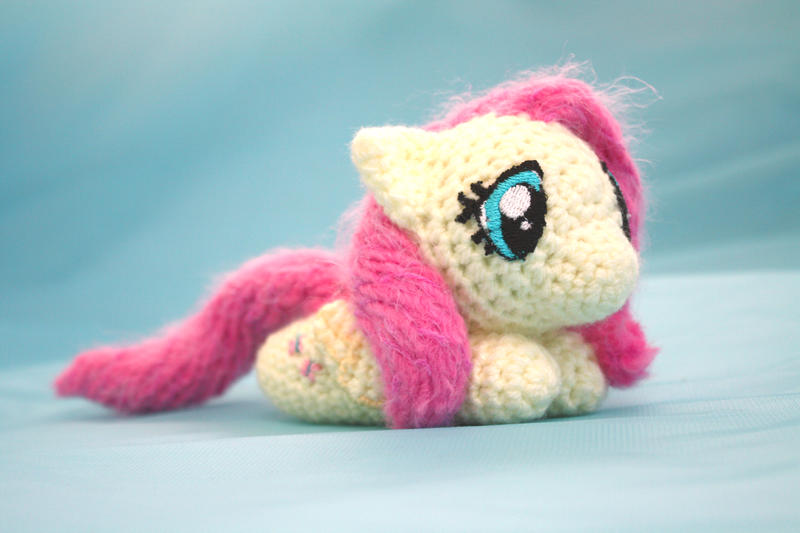 Amigurumi Chibi Doll : Fluttershy chibi mlp amigurumi by theharley on deviantart