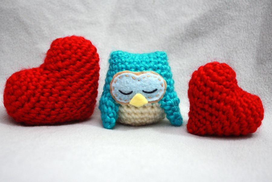 Owl Air-freshener Amigurumi by TheHarley