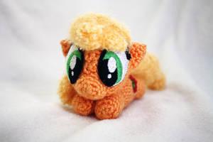 Applejack Chibi MLP Amigurumi V2 by TheHarley