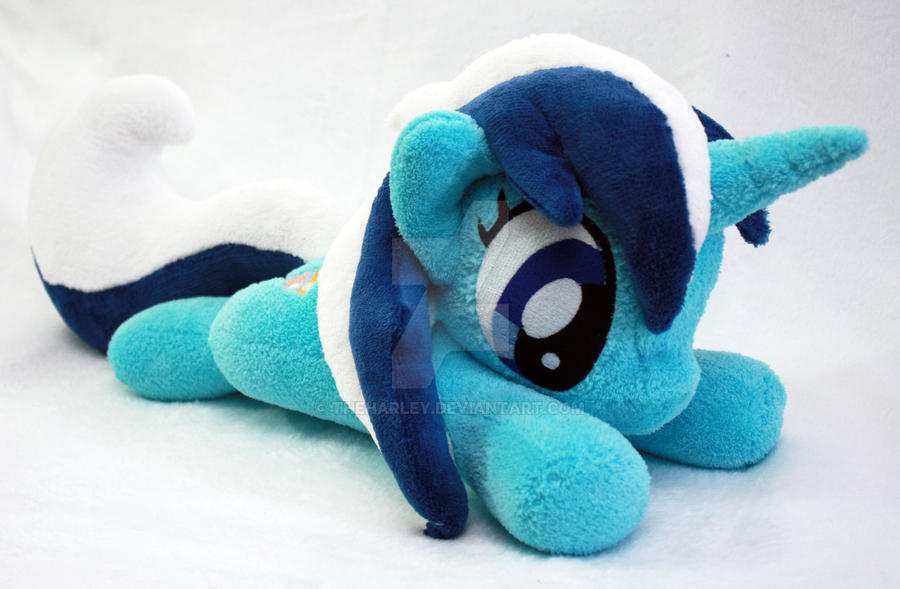 Colgate / Minuette MLP:FiM Plush by TheHarley
