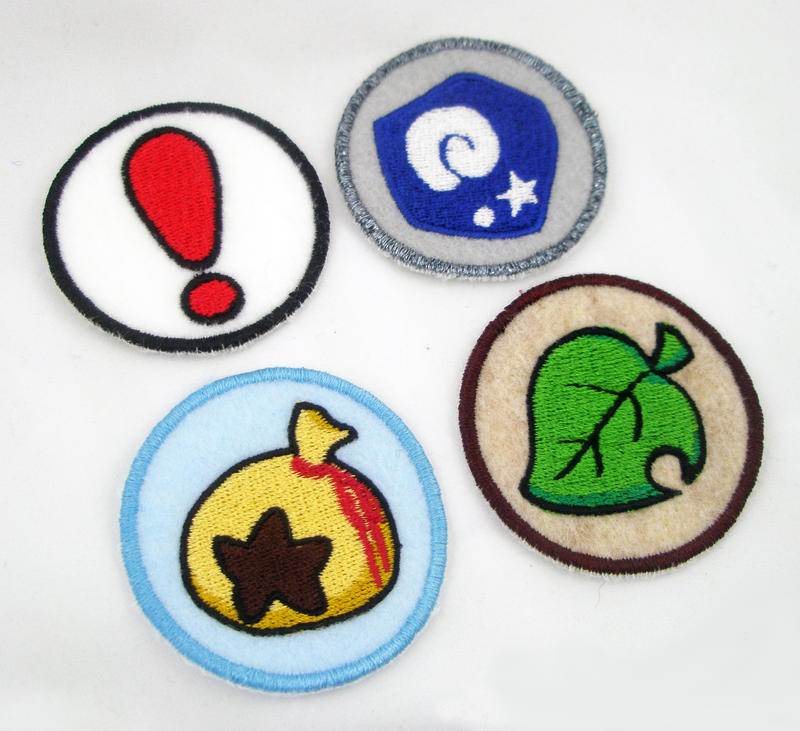 Animal crossing item patches by theharley on deviantart