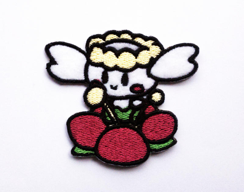 Pokedoll Style Flabebe Patch by TheHarley
