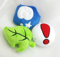 Animal Crossing Item Plushies by TheHarley