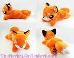 Small Orange Fox Plush