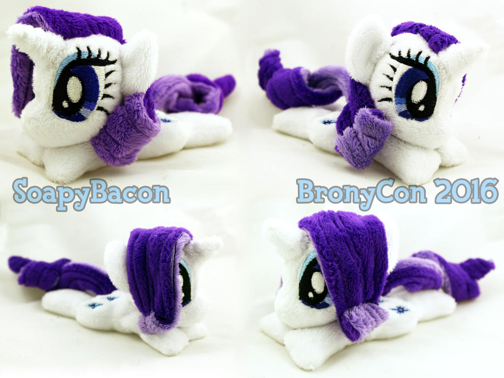 Mini 5.5in Rarity ~ BronyCon Stock 2016 by TheHarley