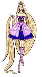 Rapunzel Prom Dress Fashion by Jonila