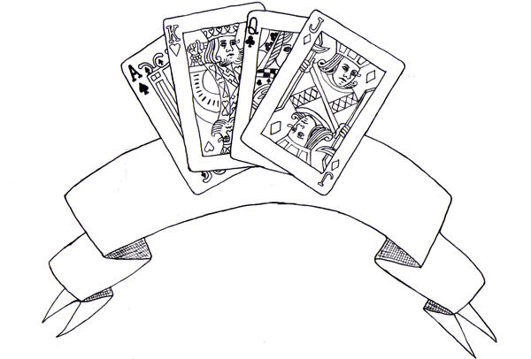 Face cards tattoo design by klaypersonne on deviantart for Card tattoo designs