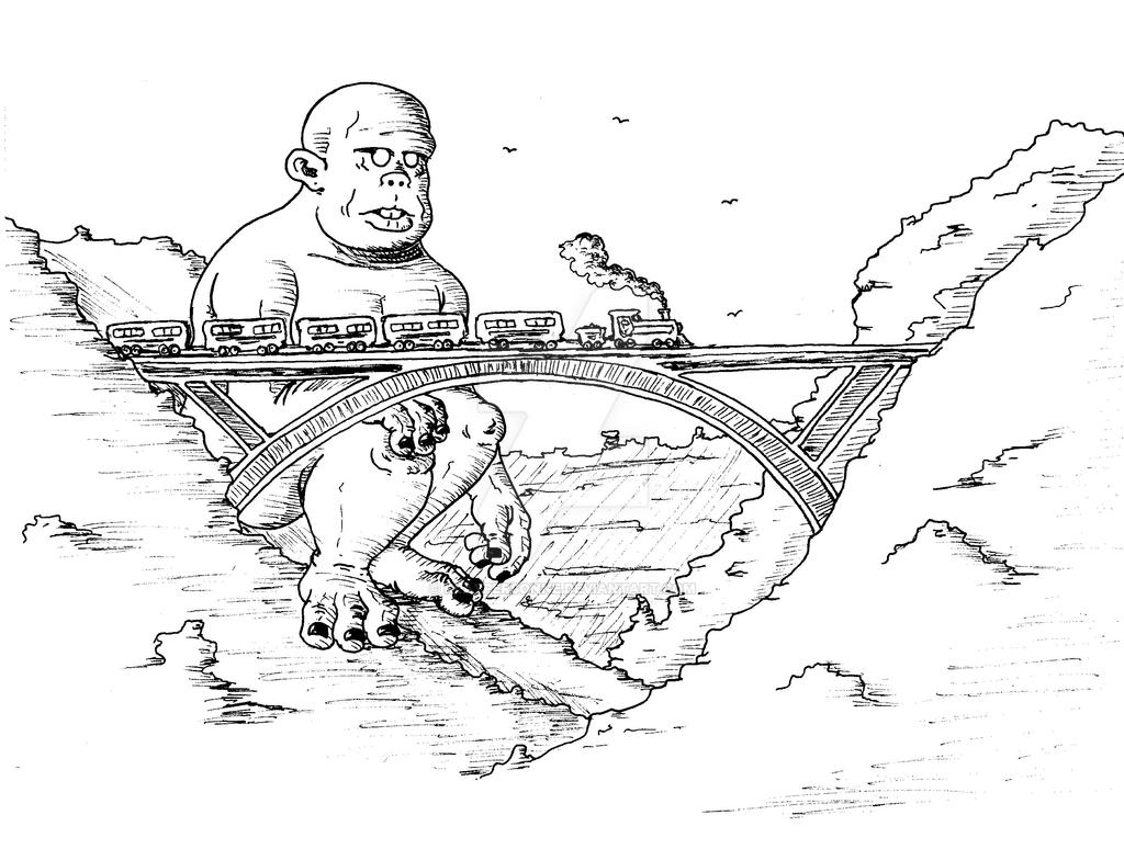 Train by Klaypersonne