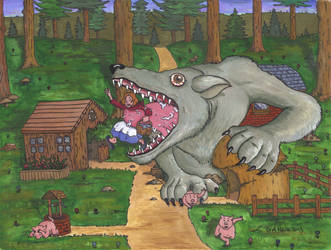 Whose Afraid of the Big Bad Wolf? by Klaypersonne
