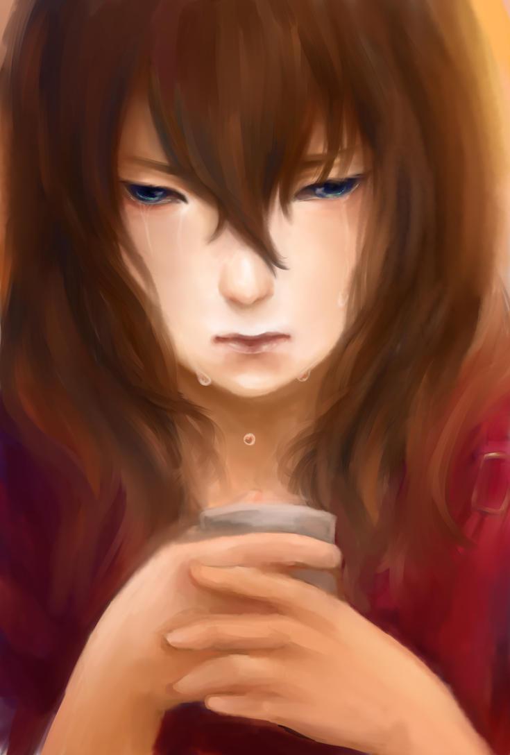 Tears In A Cup by ninjaorangexD