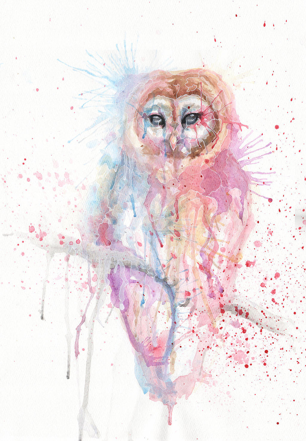 Different owl by SophiaViolette