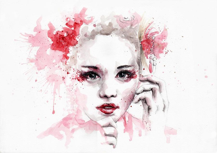 Geisha by SophiaViolette