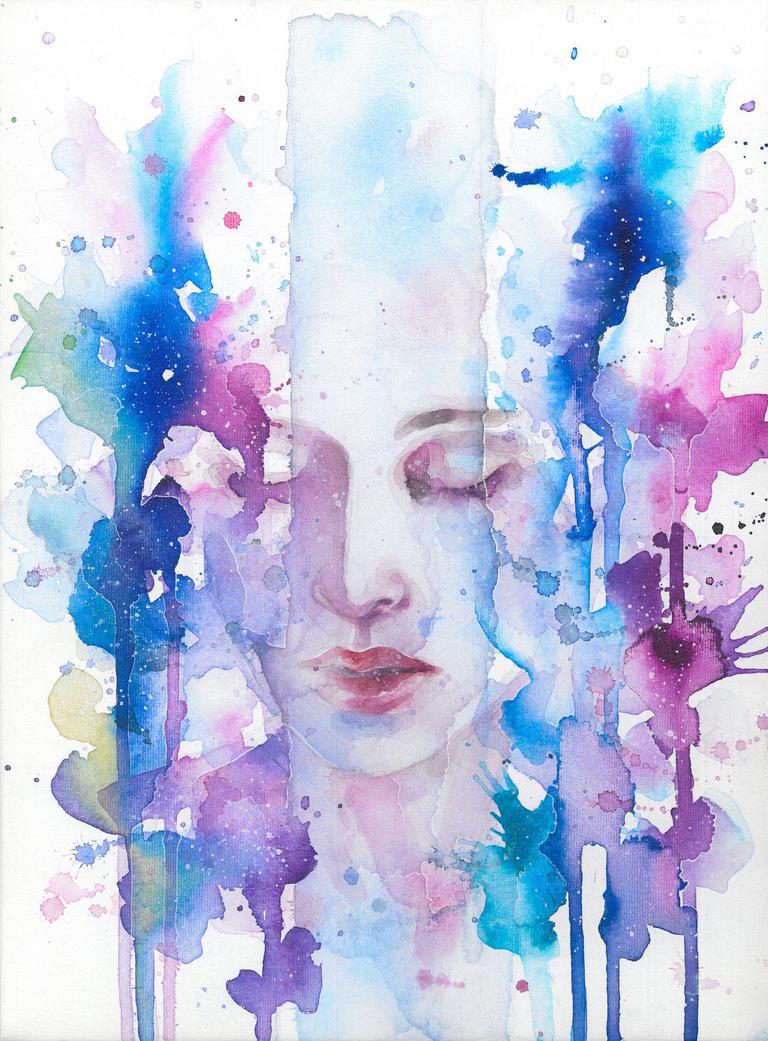 Silent space between words by SophiaViolette