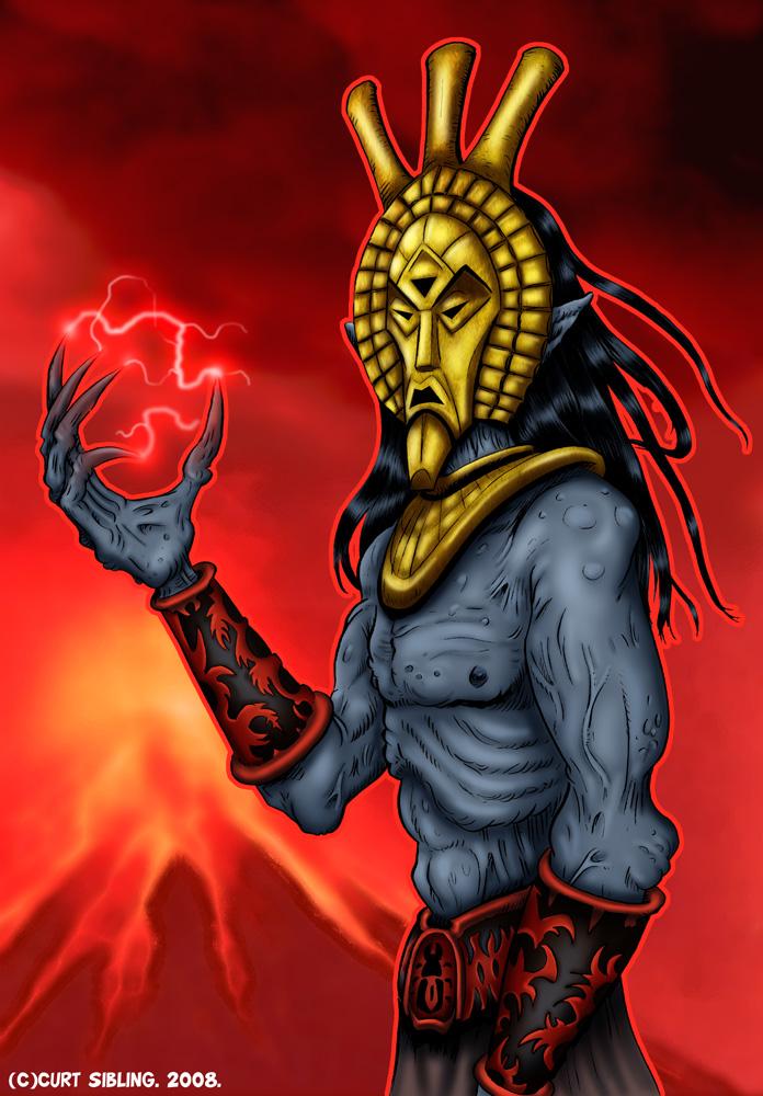 Dagoth Ur by curtsibling