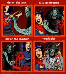 Kiss Meme Shard Version by curtsibling