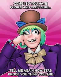 Pony Wonka by curtsibling