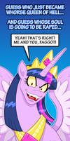 All Hail The Clop Queen by curtsibling