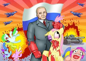 Putin Pounds Ponies