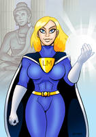 Lady Metropolis by curtsibling