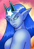 Displeasured Goddess by curtsibling