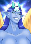 Pleased Goddess