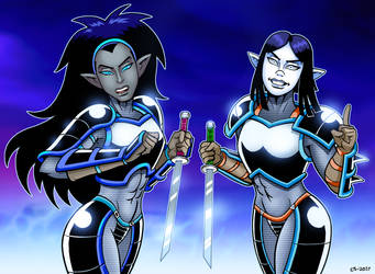 Hakati And Irsha Return by curtsibling