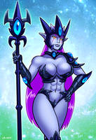 Queen Tiamab by curtsibling