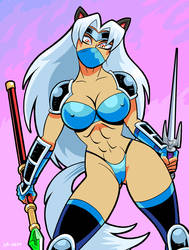 Ninjette Frost by curtsibling