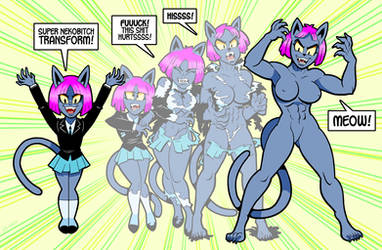 Nekomancer Transform by curtsibling
