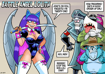 Battle Angel Lolith by curtsibling