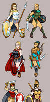 Amazons by curtsibling