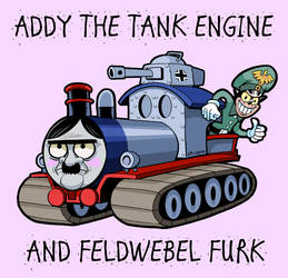 Addy The Tank Engine by curtsibling