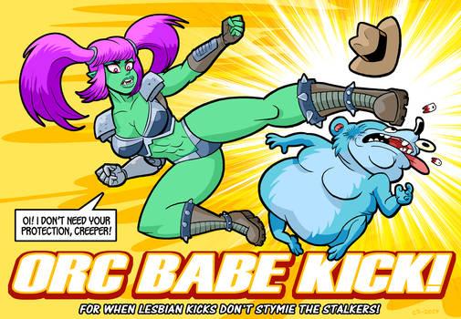 Orc Babe Kick