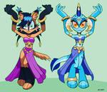 Lynx And Princess Ember