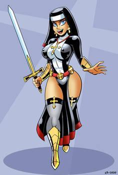 Warrior Nun Amber
