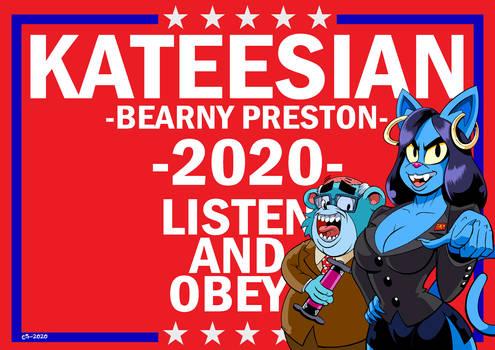 Vote Kateesian 2020