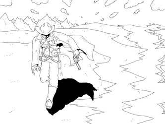 The Last Gunslinger ::lines:: by Nekosxe