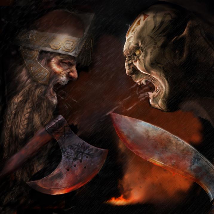 Orks vs. Zwerge - Alternativ-Version by tomorgel