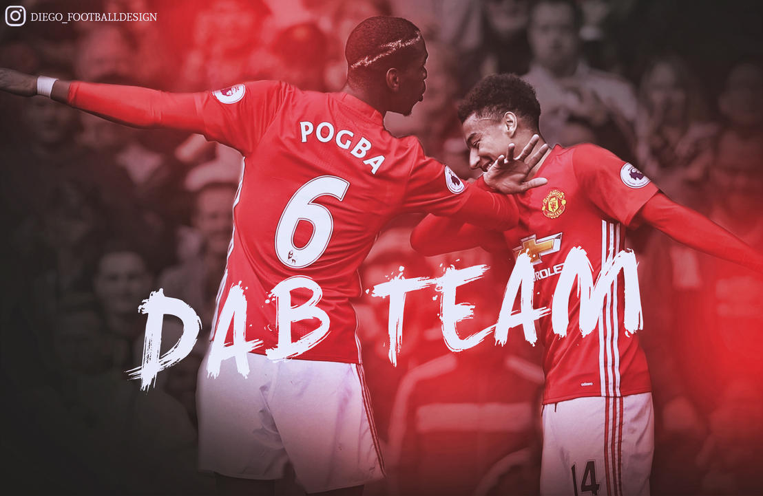 Dab Pogba Y Lingard By Diego_Footballdesign By