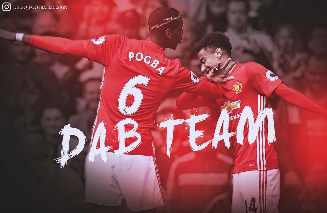 Dab Pogba Y Lingard By Diego_Footballdesign By