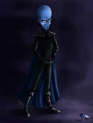 Megamind by Sierryberry